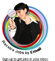 Jobs by email - Sign up today